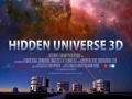 The giant screen poster for Hidden Universe 3D