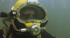A shot from the film Diving School